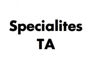 Specialites TA