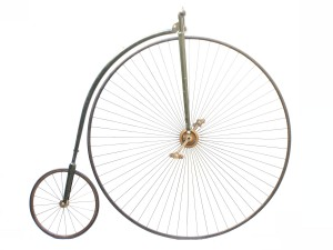 N°5 high wheel bicycle