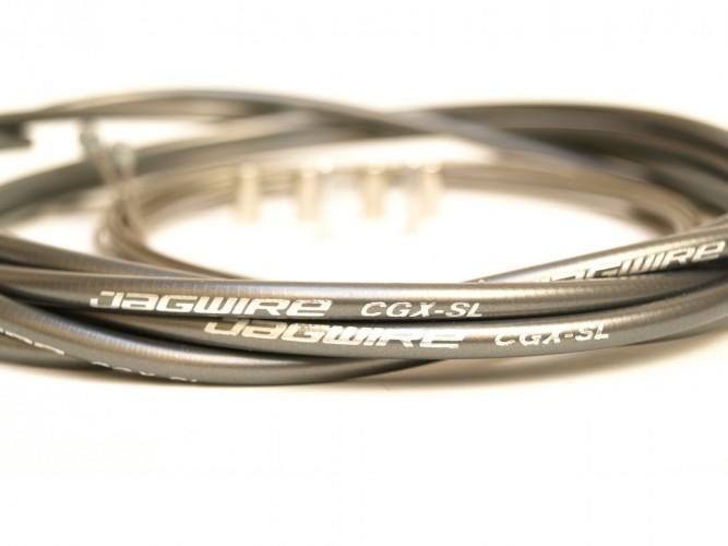 Bremskabel Set Silber grau
