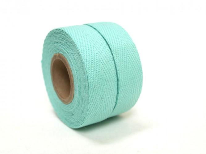 Textil Baumwolle Grün Celeste