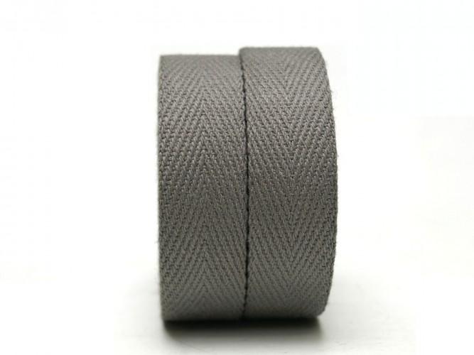 Textil Baumwolle Dunkel Grau