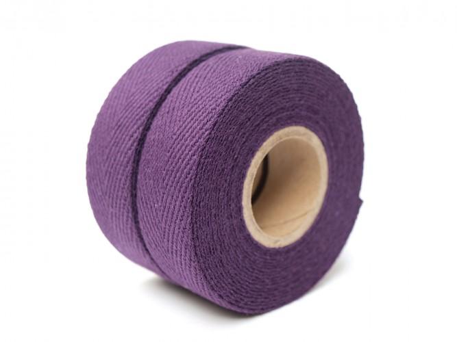 Cotton natur Purpel