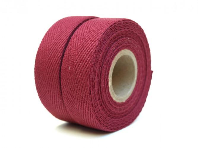 Textil Baumwolle Bordeaux rot
